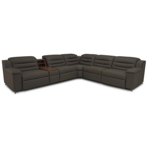 Lotus 5 PC Power Reclining Sectional