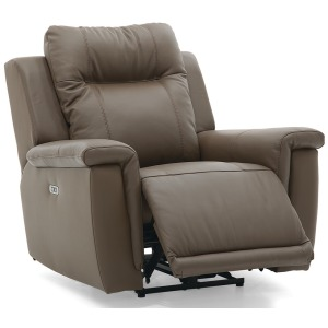 Riley Wallhugger Power Recliner with Power Headrest