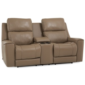 Hastings Power Loveseat w/ Console