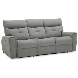 Acaia Sofa Power Recliner w/Power Headrest