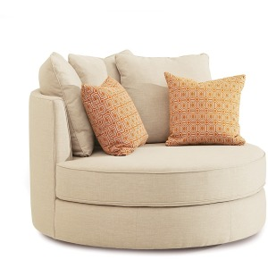 "Sutton Chair with Two 16"" Pillows"