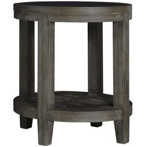 Bravo Glass Top Oval End Table