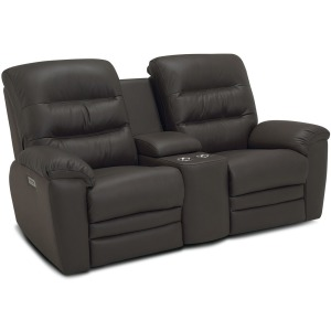 Keiran Console Loveseat Recliner Power with Power Headrest & Power Lumbar