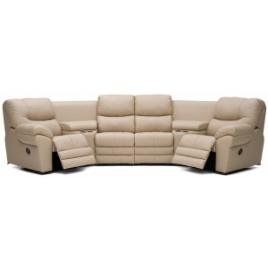Divo Fabric Reclining Sectional