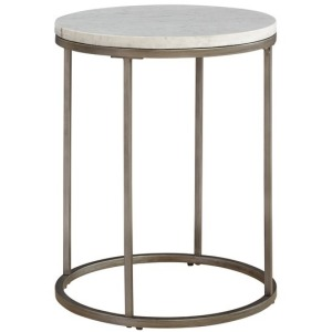 Julien Round End Table