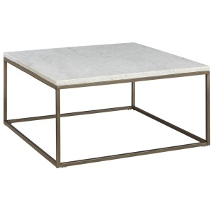 Julien Square Cocktail Table -Marble