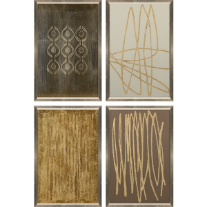 Modern Metals II - Set of 4