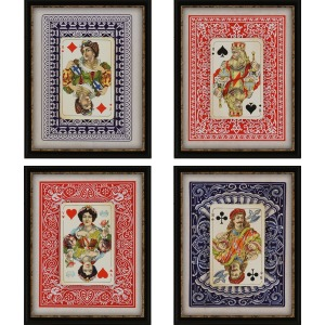 Playing Cards Pk/4 Exclusive Gicle