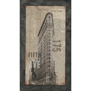 175 Fifth Avenue Textured Plaque