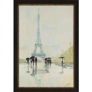 April in Paris Textured Print