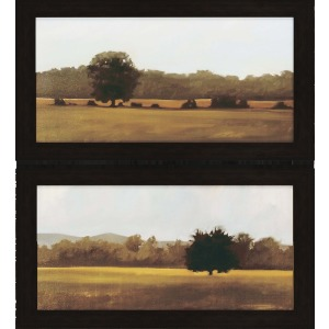 Resting/Silent Pk/2 Textured Print