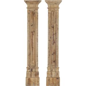Rustic Columns - Set of 2