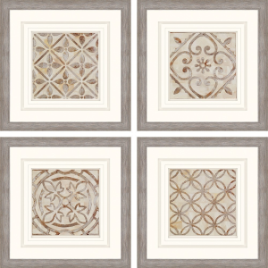 Moroccan Tiles S/4
