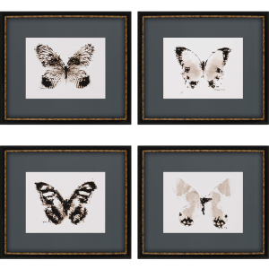 Inked Butterflies Pk/4 Exclusive Gicle