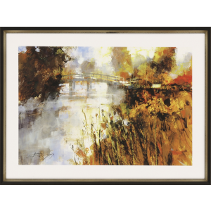 Bridge at Autumn Morning