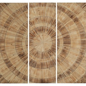 Nature's Circles Pk/3 Wood