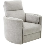 Radius Mineral Power Swivel Glider Recliner