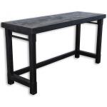 Veracruz Everywhere Console Table - Rustic Charcoal