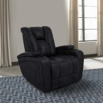 Optimus Midnight Power Recliner