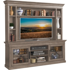 "Sundance 92"" Console with Hutch & Backpanel - Sandstone"