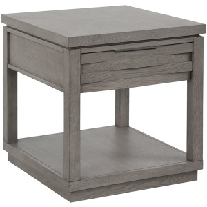 Pure Modern End Table - Moonstone