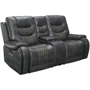 Outlaw Stallion Power Console Loveseat