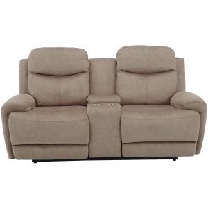 Bowie - Doe Power Reclining Console Loveseat