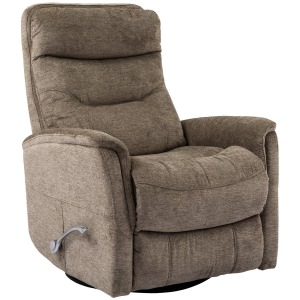 Gemini - Heather Manual Swivel Glider Recliner