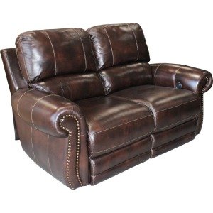 Loveseat Dual Power Recliner