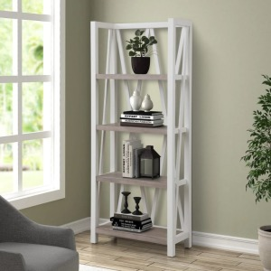 American Modern - Cotton Etagere Bookcase