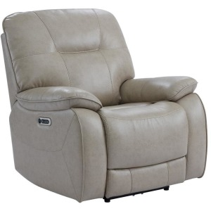 Axel Parchment Power Recliner