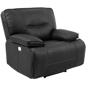 Spartacus Black Power Recliner