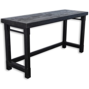 Veracruz Everywhere Console Table - Rustic Charcoal