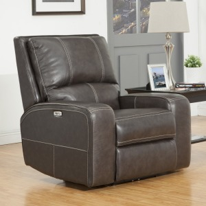 Swift Twilight Power Leather Recliner