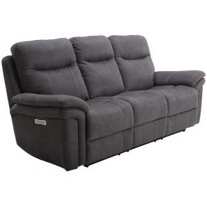 Mason Charcoal Power Sofa