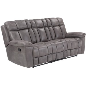 Goliath - Arizona Grey Manual Reclining Sofa