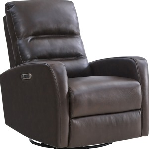 Ringo Florence Brown Power Swivel Glider Recliner
