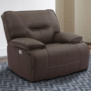 Spartacus Chocolate Power Recliner
