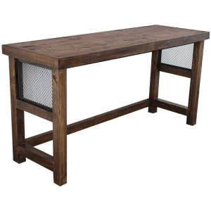Lapaz Everywhere Console Table - Rustic Worn Pine