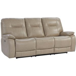 Axel Parchment Power Sofa
