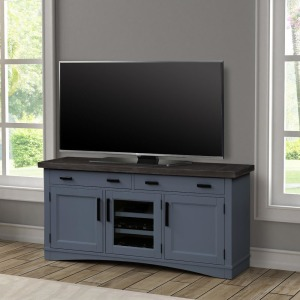 "Americana Modern 63"" TV Console - Denim"
