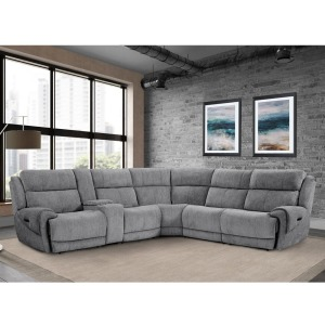 Spencer 6pc Sectional - Tide Graphite
