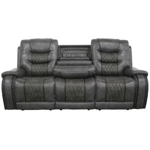 Outlaw Stallion Power Drop Down Console Sofa