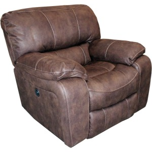 Jupiter Dark Kahlua Manual Glider Recliner