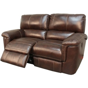 Hitchcock Cigar Loveseat Dual Power Recliner
