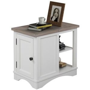 Americana Modern-Cotton Chairside Table
