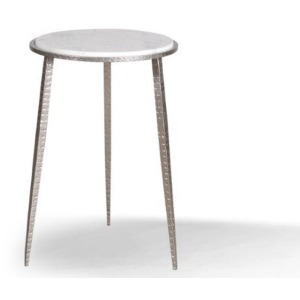 Crossings Palace Accent Table - Iron & Marble