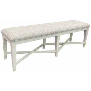 Americana Modern Dining Bench Upholstered 58in.