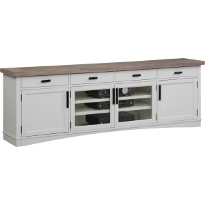Americana Modern Cotton 92in TV Console