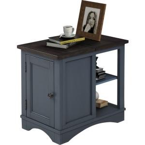 Americana Modern-Denim Chairside Table